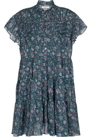 Isabel Marant Lanikaye floral cotton minidress