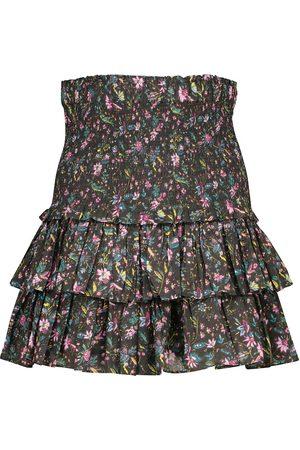 Isabel Marant Naomi floral cotton miniskirt