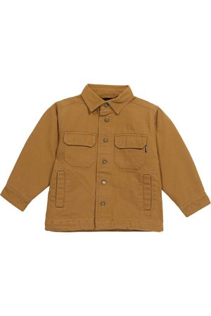 Molo Henley cotton shirt jacket