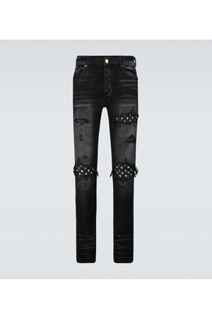 AMIRI MX1 Leather Playboy jeans