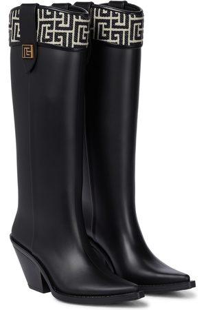 Balmain Tess 70 rubber boots
