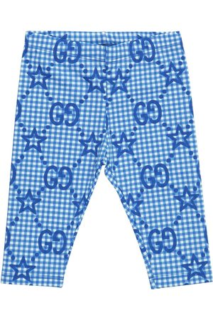 Gucci Baby printed stretch-jersey leggings