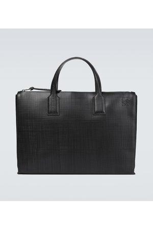 Loewe Goya leather briefcase
