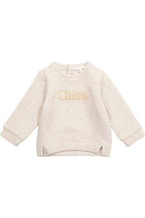 Chloé Baby cotton jersey sweatshirt