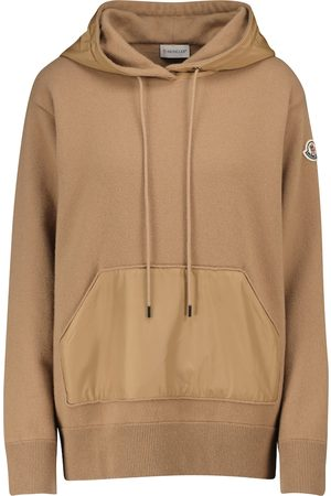 Moncler Wool and cashmere hoodie