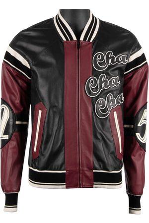 Dolce & Gabbana Men Leather Jackets - Multicolour Leather Jackets