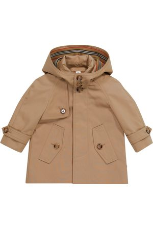 Burberry Baby cotton twill car coat
