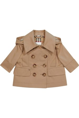 Burberry Baby cotton twill trench coat