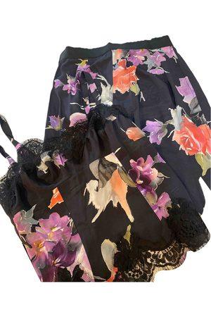 Dolce & Gabbana Multicolour Silk Jumpsuits