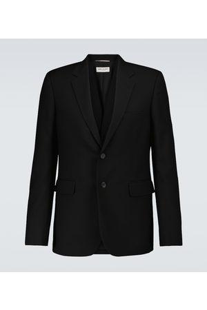 Saint Laurent Single-breasted wool blazer