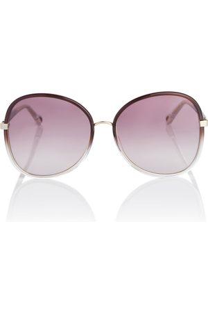 Chloé Franky round sunglasses