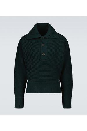 Bottega Veneta High-neck wool-blend sweater
