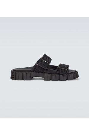 Fendi FF printed sandals