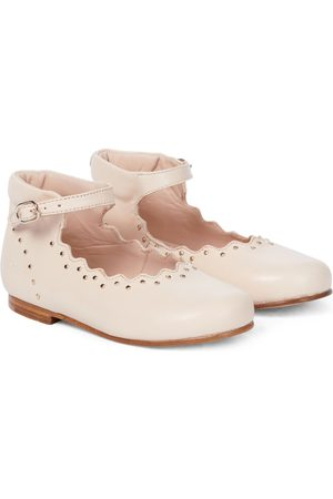 Chloé Baby leather ballet flats