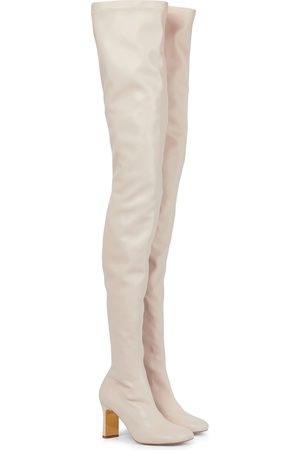 Stella McCartney Ivy faux leather over-the-knee boots