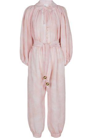 Lisa Marie Fernandez Poet cotton and linen jumpsuit