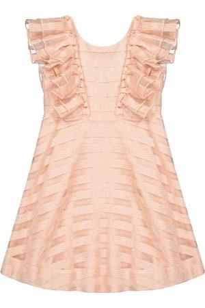 Tartine Et Chocolat Striped chenille dress