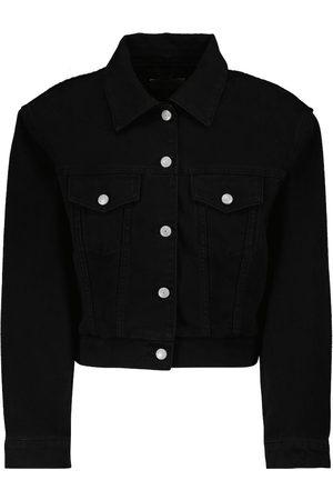 MAGDA BUTRYM Cropped denim jacket