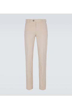 Brunello Cucinelli Stretch-cotton pants