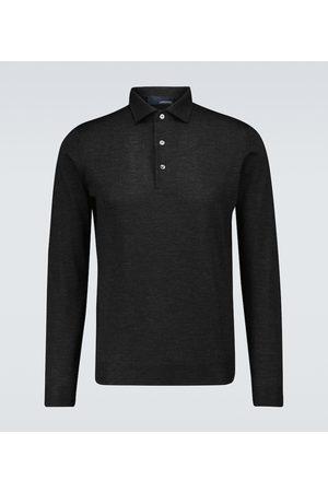 LARDINI Long-sleeved polo shirt