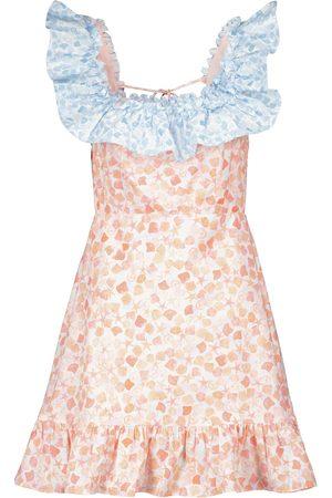 RIXO London Kai floral minidress