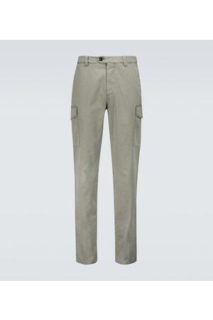 Brunello Cucinelli Stretch-cotton cargo pants