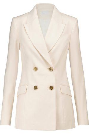 Rebecca Vallance Verano cotton and linen-blend blazer