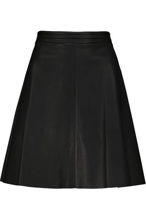 Stouls Ivy high-rise leather mini skirt