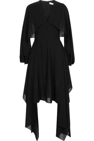 J.W.Anderson Asymmetric midi dress