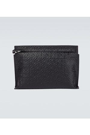 Loewe T Pouch in leather