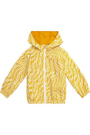 Fendi FF Vertigo printed rain jacket