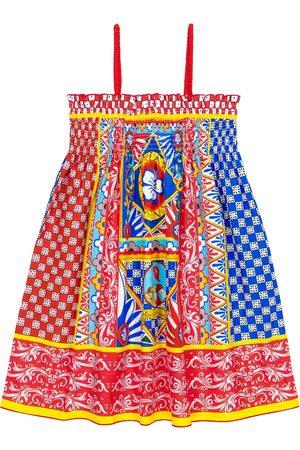 Dolce & Gabbana Printed poplin sundress
