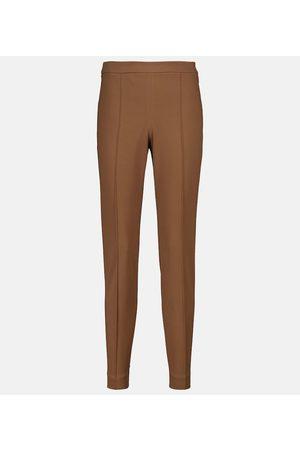 Loro Piana Mirel stretch-cotton cigarette pants