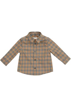 Burberry Baby Archive Check stretch-cotton shirt