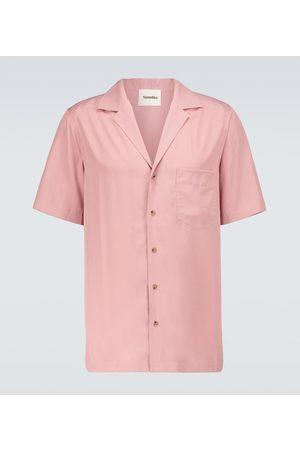 Nanushka Venci short-sleeved shirt