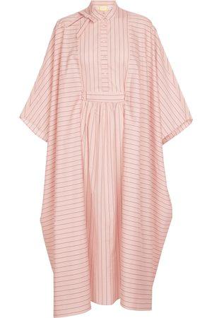Erdem Vacation Antibes striped organza dress