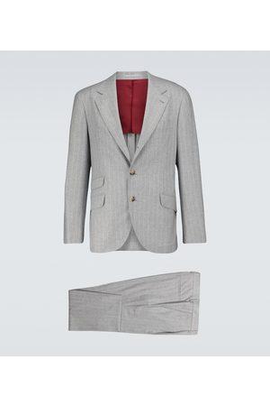 Brunello Cucinelli Wool-blend suit