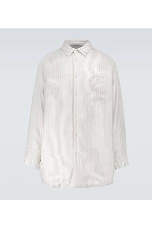 Maison Margiela Striped oversized shirt