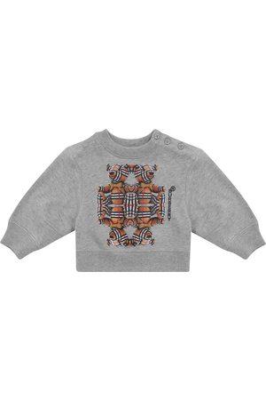 Burberry Baby printed cotton sweatshirt