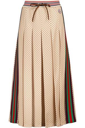 Gucci GG printed midi skirt