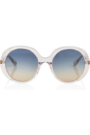 Chloé Round acetate sunglasses
