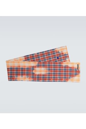 Acne Studios Vino flannel checked scarf