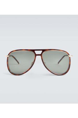 Saint Laurent Aviator acetate sunglasses