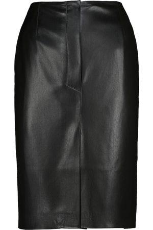 Nanushka Regan faux leather pencil skirt