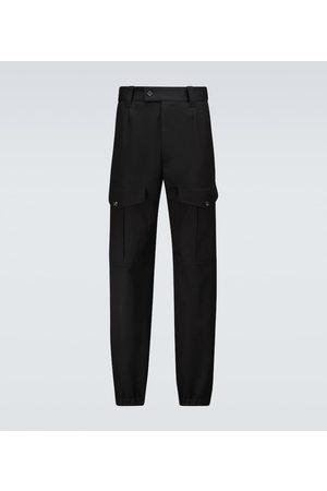 Alexander McQueen High-waisted cargo pants