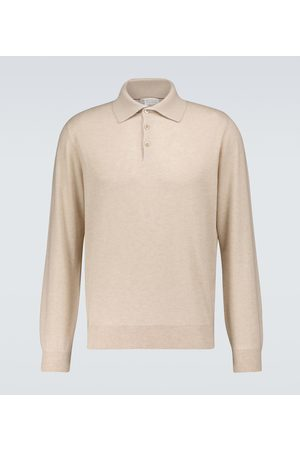 Brunello Cucinelli Cashmere long-sleeved polo shirt