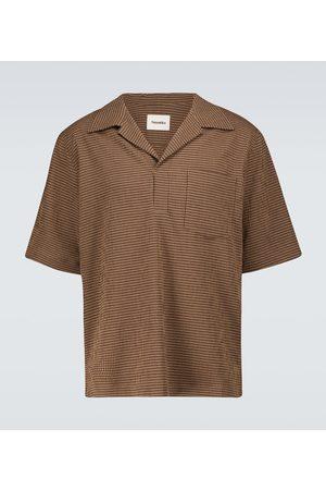 Nanushka Checked polo shirt