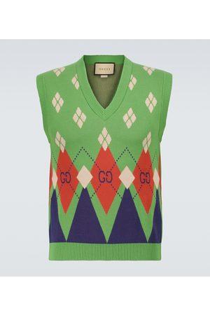 Gucci Ouverture sweater vest