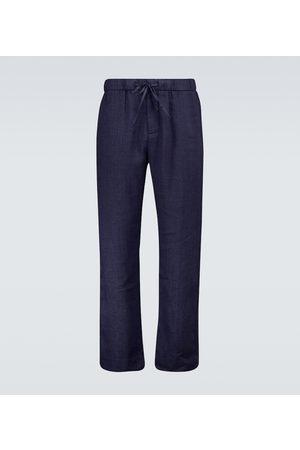 Frescobol Carioca Stretch-cotton chino pants