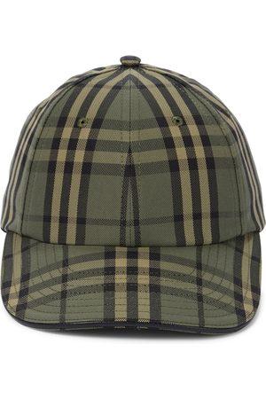 Burberry Icon Check cotton baseball cap